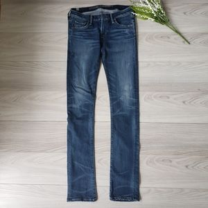 CITIZENS OF HUMANITY  distressed straight Jean C6